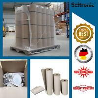 6 Rollen Packpapier Schrenzpapier 50cm hoch x 250 lfm 100g/m² Stopf Füllmaterial