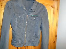 Ladies charcoal grey spring / summer unlined jacket, DIESEL, size Small