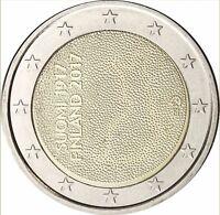 Finnland 2 Euro Münze 100 Jahre Unabhängigkeit 2017 Gedenkmünze bankfrisch