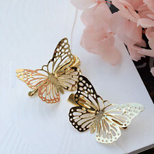 Fashion Lady 3D Beauty Butterfly Barrette Hair Clip Hairpin Wedding Chic Jewelry