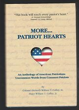More...Patriot Hearts by William Coffey, Signed