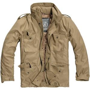 Brandit Classic  M65 Domaine Militaire Veste Vintage Hommes Coat Voyage Parka Ca
