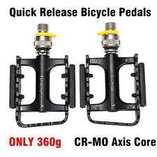 Promend Quick Release Bicycle Pedals Folding BIke Pedals 360g DU Sealed Bearings