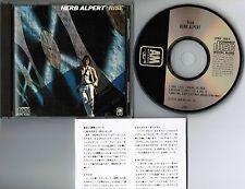 HERB ALPERT Rise JAPAN CD 1984 1st issue w/INNER OBI+INSERT Alfa 38XB-6