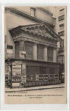 CPA - PARIS HISTORIQUE - Restes de la Chapelle: France postcard (C27547)