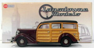 Lansdowne Models 1/43 Scale LDM116 - 1952 Ford Pilot Station Wagon - Maroon