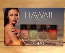 OPI O.P.I Mini Nail Polish Lacquers HAWAII 4 COLORS  NEW  GREAT GIFT IDEA
