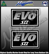 EVO SII - STACER - PAIR - BOAT DECALS