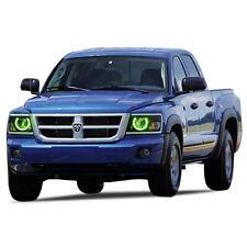 for Dodge Dakota 08-11 Green LED Halo kit for Headlights