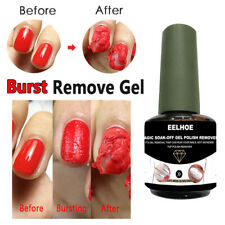 Magic Nail Gel Polish Burst Remover Soak Off Polish Cleaner Nail Supplies 15ml