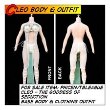 """Phicen/TBLeague Hot CLEO Goddess Body & Outfit Set for 1/6 12"""" scale Toys"""