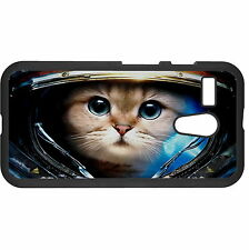 Funny Astronaut Cat Hard Case Cover For Various Mobile