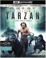 The Legend of Tarzan (Blu-ray Disc, 2016, 2-Disc Set)