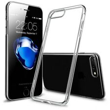 Handy Hülle für Apple iPhone 7 Plus Silikon Bumper Schutz Hülle Case Transparent