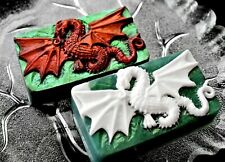 DRAGON SILICONE MOLD for soap making plaster wax clay mould SOAP welsh