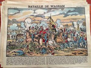 Bataille De Wagram.IMAGE D'ÉPINAL XIXéme.
