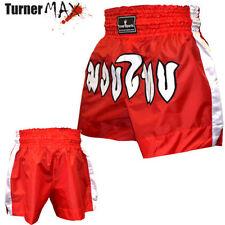 Short rouge pour arts martiaux et sports de combat