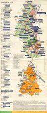 BORDEAUX WINE TOURING MAP. Graves Cerons Sauternes Barsac Loupiac. LARMAT c1947