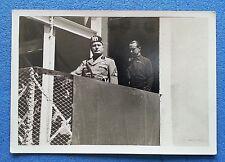 Militare IL DUCE a  CAGLIARI Foto Cartolina non viagg 1935