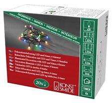 Konstsmide LED Globelichterkette&#44 runde Dioden