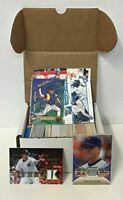 Baseball Jersey Autograph Box w/ 300+ Cards & 3 Relic Autos or Jersey Cards