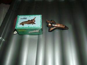 die-cast miniature space shuttle pencil sharpener