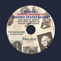 Harper's encyclopaedia of United States history – Vintage Books 10 Vol on 1 DVD