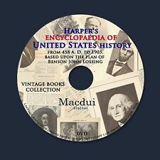 Harper's encyclopaedia of United States history – Vintage Books 10 Vol on 1 DVD