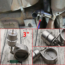 Stainless Steel Exhaust Control Valve Set Vacuum Actuator 3 INCH Style 76mm Pipe