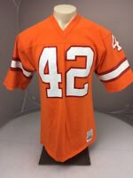 Vtg 80s TB Buccaneers #42 Ricky Bell Medalist Sand Knit Jersey NEVER WORN USA