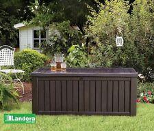 Keter Rockwood Storage Box BROWN 570 Litres of Outdoor Storage