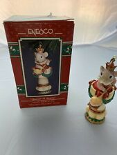 Enesco Queen of Hearts Mice Treasury of Christmas Ornament Mousery Rhymes 9th #9