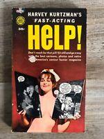 Harvey Kurtzman's Fast Acting HELP! paperback 1st gold metal printing