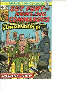 SGT. FURY AND HIS HOWLING COMMANDOS (1963 Series) 132 Comic Book COMBINED S/H $5