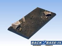 100mm x 50mm Resin Scenic Base 1 Square Dirt Warhammer
