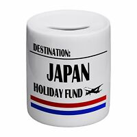 Destination Japan Holiday Fund Novelty Ceramic Money Box