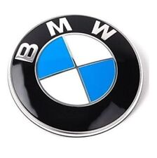 Genuine BMW Front Hood Rear Trunk Emblem Logo Badge 82MM 51148132375