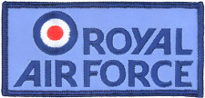 Royal Air Force RAF Logo MOD Embroidered Patch
