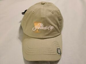 NWT The Presidents Cup 2013 Imperial Embroidered Celtic Green Adjustable Hat Cap