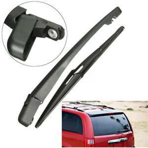 Rear Window Wiper Arm + Blades + Nut Set For Dodge Caravan For Chrysler Town US