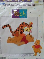 Winnie The Pooh and Tigger Pounce Counted Cross Stitch Kit 34006