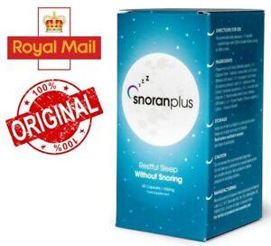 Snoran Plus- reduces snoring, sleeping better, improves breathing, capsuls