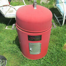 RED Brinkmann Gourmet Charcoal Smoker Grill