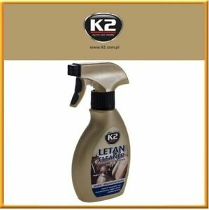 K2 2 in 1 Letan Clean and Restores Spray Leather Car Sofa Upholstery Cleaner
