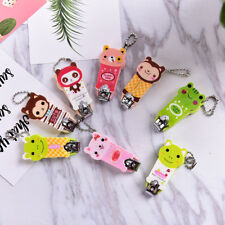 Cute Cartoon Animal Manicure Pedicure Set Kit Nail Care Clipper Tool Scissors TS