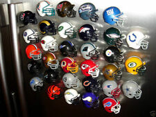 32 NFL TEAM FOOTBALL HELMET FRIDGE REFRIGERATOR MAGNETS SET