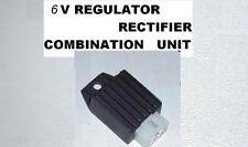 6V 6 VOLT REGULATOR RECTIFIER FOR CONVERTING 12V CLONE ENGINES Z50 CT70 C70 CT90
