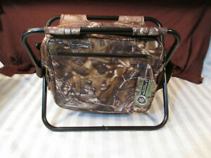 REALTREE Xtra fold up 18 CAN COOLER CAMOUFLAGE CAMP FISH HUNT RACE TABLE travel