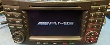 Mercedes Benz E class 211 chassis AMG Comand Radio with Bluetooth streaming