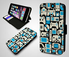 PlayStation XBox Wii Nintendo Joystick Game Boy Games Leather Phone Case Cover
